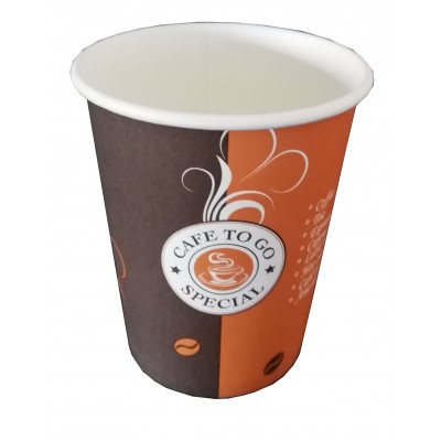 Pahar Carton lux CAFE TO GO 8 oz (50 buc.)